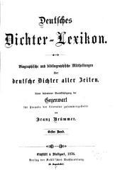 Deutsches Dichter Lexicon