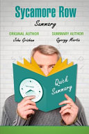 Sycamore Row by John Grisham Summary Book