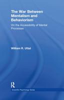 The War Between Mentalism and Behaviorism PDF