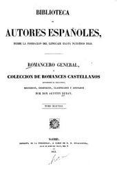 Romancero general: ó, Colección de romances castellanos anteriores al siglo XVIII, Volumen 2;Volumen 16