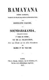 Râmâyaṇa, Poème sanscrit de Vālmīki, Mis en français par Hippolyte Fauche: Volume7
