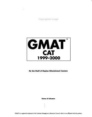 Kaplan GMAT CAT 1999 2000 PDF