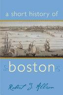 A Short History of Boston PDF