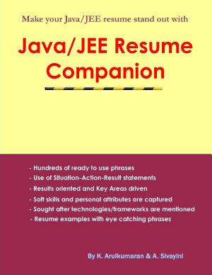 Java jee Resume Companion
