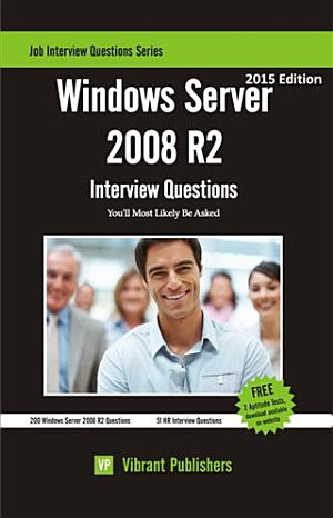 Windows Server 2008 R2 Interview Questions You ll Most Likely Be Asked