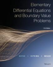 Elementary Differential Equations and Boundary Value Problems: Edition 11