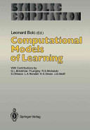 Computational Models of Learning