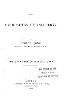 The Chemistry of Manufactures PDF