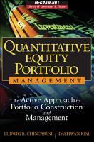 Quantitative Equity Portfolio Management PDF