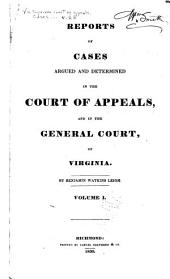 Cases Decided in the Supreme Court of Appeals of Virginia: Volume 28