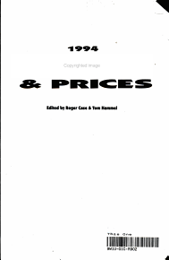 Toys and Prices  1994 PDF