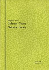Jefferson County Historical Society Magazine (2004)