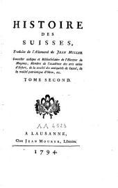 Histoire des suisses: Volume2