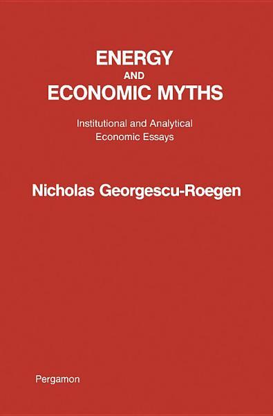 Energy and Economic Myths