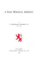 A Scots mediaeval architect  John Morow   PDF
