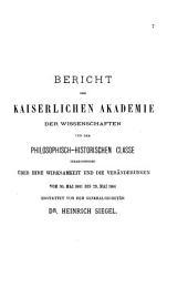 Die Feierliche Sitzung der Kaiserlichen Akademie der Wissenschaften am ...