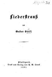 Liederstrauss