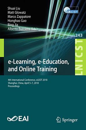 e Learning  e Education  and Online Training PDF
