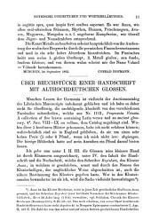 Germania: Vierteljahrsschrift für deutsche alterthumskunde..., Band 8