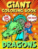 Dragons Giant Coloring Book For Boys