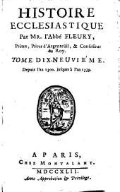 Histoire ecclésiastique: depuis Jésus Christ jusqu'à l'an 1595, Volume19
