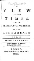 A View of the Times PDF