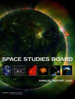 Space Studies Board Annual Report 2010 PDF
