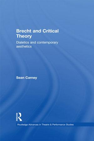 Brecht   Critical Theory