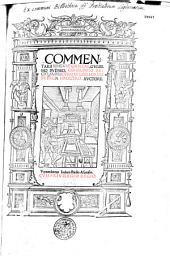 Commentarii linguae graecae, Gulielmo Budaeo, consiliario regio, supplicumque libellorum in regia magistro, auctore