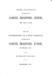 Some Incidents in the Life of Samuel Bradford, Senior