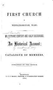 Mister Putnam's Century and Half Discourses