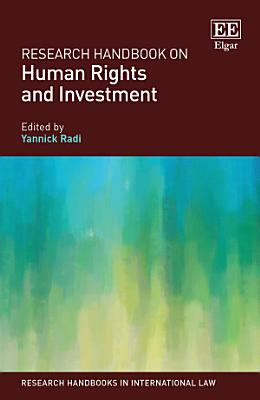 Research Handbook on Human Rights and Investment PDF