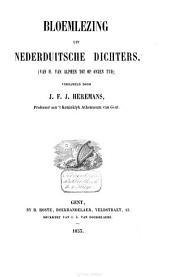 Bloemlezing uit Nederduitsche dichters: (van H. van Alphen tot op onzen tyd)