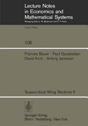 Supercritical Wing Sections II