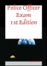 Police Officer Exam 1st Edition PDF