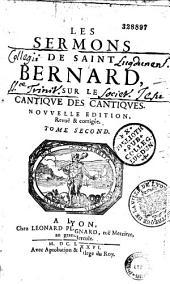 """Sermons sur le : """"Cantique des cantiques"""", traduits en français"""