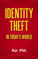 Identity Theft in Today s World PDF