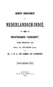 Indisch tijdschrift van het recht: orgaan der Nederlandsch-Indische juristen-vereeniging, Volume 55