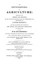 An encyclop  dia of agriculture     Fourth edition  etc PDF