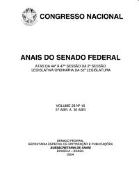 Anais do Senado Federal PDF