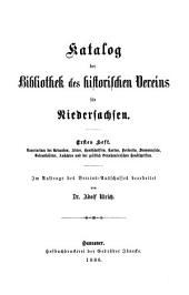 Katalog: Bände 1-2