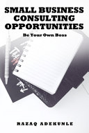 Small Business Consulting Opportunities