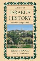 A Survey of Israel s History PDF