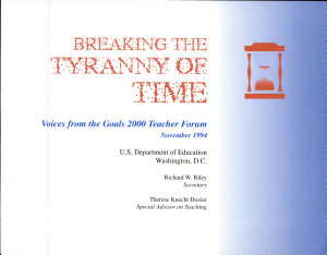 Breaking the Tyranny of Time