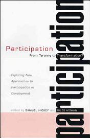 Participation  From Tyranny To Transformation