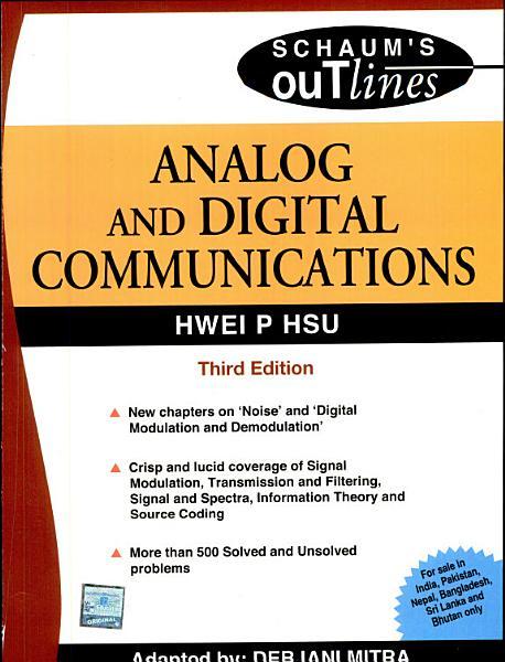 Analog   Digital Comm 3E  Sie  PDF