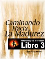 CAMINANDO HACIA LA MADUREZ   LIBRO 3 PDF