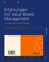 Erfahrungen mit Value Based Management: Praxislösungen auf dem Prüfstand