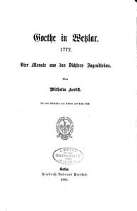 Goethe in Wetzlar  1772 PDF