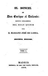 El doncel de Don Enrique el Doliente: historia caballeresca del siglo quince, Volumen 2